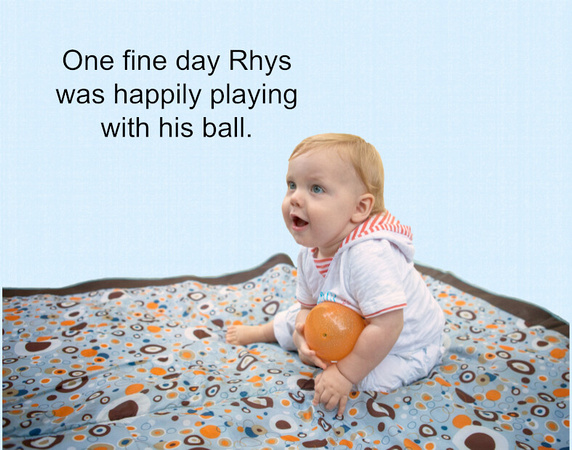 Rhys and His Missing Ball Page 1